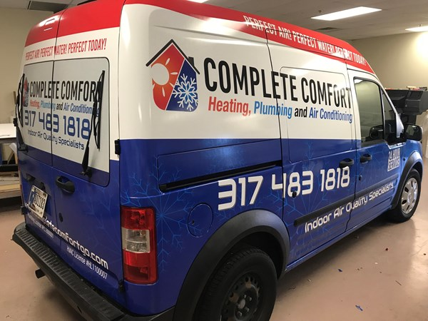 Fill Minivan Wrap for Complete Comfort in Greenwood,IN