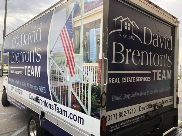 Box Truck Full Graphics Wrap for David Brenton Team in Indianapolis, IN