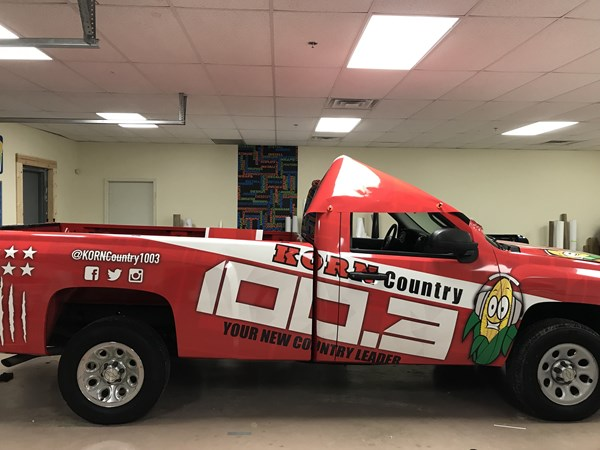 Full Vehicle Wrap for Korn Country 100.3 in Franklin,IN