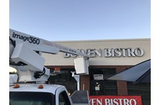 Exterior Building Sign, Illuminated Channel Letters for Bowen Bistro in Lafayette, IN