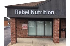 Exterior Building Signs, Storefront Signs for Rebel Nutrition