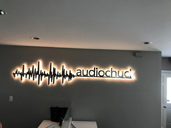 Backlit Letters, Signs for audiochuck in Indianapolis