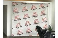 Backdrop Banner and Frame for JS ibrow & spa